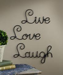 Metal Wall Letters Home Decor Amazon Com Live Love Laugh Set 3 Wall Mount Metal Wall Word