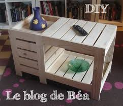 fabrication de coffre en bois diy table basse en bois de palette avec coffre de rangement le