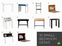 the most brilliant desk for small bedroom with regard to warm