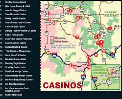 Colorado Casinos Map by Colorado Casino Map Finland