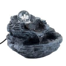 rock design desk fountain u2013 waterfallnow