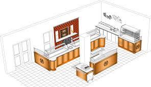 kitchen outstanding restaurant kitchen layout 3d bkkg4k2o