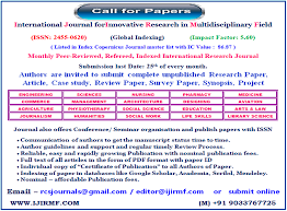 reliable websites for research papers international journal for innovative research in multidisciplinary