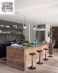 salvaged wood kitchen island useful reclaimed wood kitchens small kitchen decor