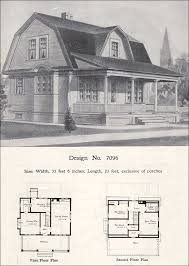 Hip Roof Colonial House Plans Gambrel House Plans Gambrel Type Economical House Plans Houses