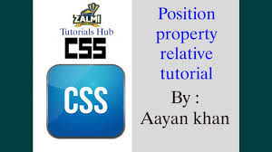 css tutorial in urdu position relative property 3 css complete tutorial in urdu hindi