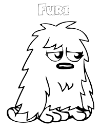 cute monster coloring pages print coloring