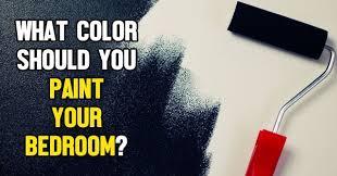 what color should you paint your bedroom quizlady