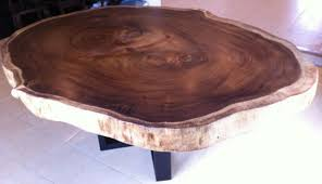 live edge round table live edge dining table reclaimed large acacia wood solid slab
