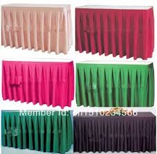 Cloth Table Skirts by Skirt Type Picture More Detailed Picture About 12ft L 29