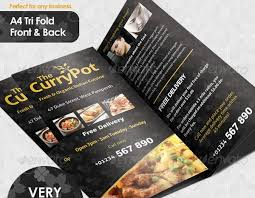 takeout menu template 30 food menus templates for café and restaurants ginva