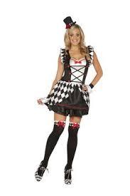 Court Jester Halloween Costume Womens Circus Retro Cirque Showgirl Jester Halloween Costume