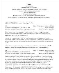 Buzz Words For Resumes Government Resume Examples Examples Of Government Resumes