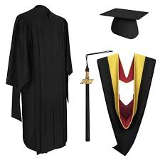 graduation caps and gowns deluxe master graduation cap gown tassel