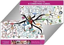 Christmas Map Vce A Christmas Carol Study Map