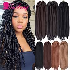 pictures of soft dred crotchet hairstyles 93 best 18 inch faux locs hair images on pinterest goddesses