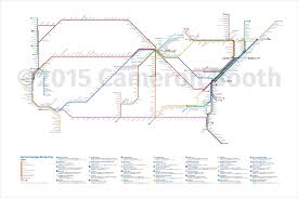 Amtrak Usa Map by 2015 Amtrak Subway Map Revised Draft U2013 Large Cameron Booth