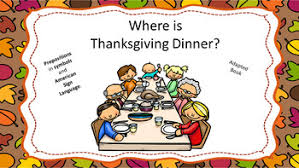 where is thanksgiving dinner by listening and ears tpt
