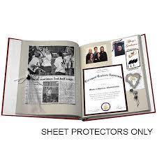 scrapbook page protectors pioneer 1sjp scrapbook sheet protectors pack of 10 1sjp