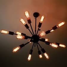 Edison Ceiling Light E27 Led Edison Squirrel Cage Light Bulb From Lightwithshade On
