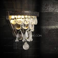 Crystal Wall Sconces Crystal Wall Sconces 10 2 Inch Height E12 E14 Lamp Holder