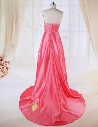 coral high low prom dresses 2016 high low dresses casual coral