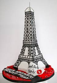 Eiffel Tower Party Decorations Celebrate With Cake Eiffel Tower Amazing Cakes Pinterest