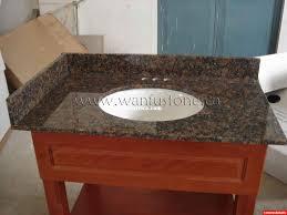 Granite Bathroom Vanity Top by Bathroom Vanity Countertops Interdesign Formbu Bath Collection