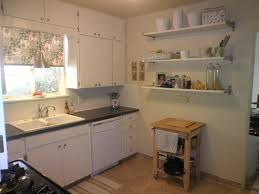 kitchen floating shelves under kitchen cabinets dinnerware