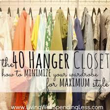 tiny minimalist declutter closet purge roselawnlutheran