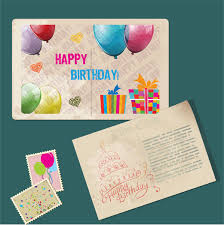 happy birthday card template free vector download 24 034 free