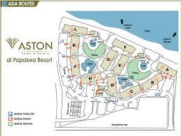 papakea resort map aston at papakea property map