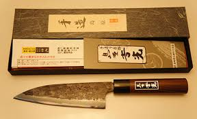 yoshimitsu deba double bevels 165mm tamahagane watetsu blade