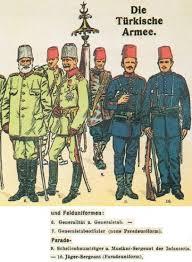 Ottoman Army Ww1 Ottoman Turkish Uniforms Ww1 History World War Militaria