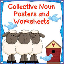 collective nouns posters and worksheets farm theme community