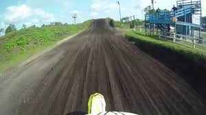 used motocross helmets motocross amazing track riding go pro helmet cam youtube