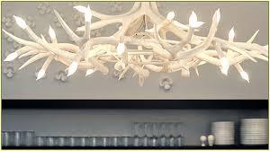 Deer Antler Chandelier Canada White Antler Chandelier Modern Home Design Ideas