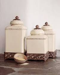 ceramic canisters sets for the kitchen ceramic tuscan kitchen canister set out of my price range