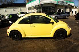 1999 volkswagen beetle yellow manual used car