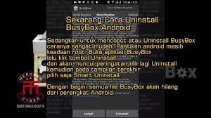 busybox android cara install dan uninstall busybox android yang benar di