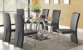 lummy glass dining room table sets