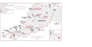 Bvi Map West Tortola Driving Tour Map Tortola Island British Virgin