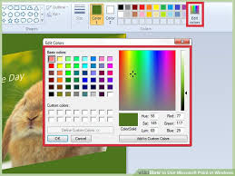 paint software how to use microsoft paint in windows with pictures wikihow