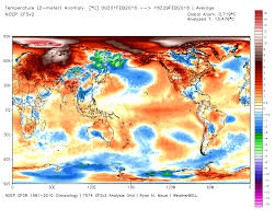 World Temperature Map by Nasa Confirms February 2016 U0027s Shocking Global Warming Temperature