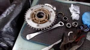 hadesomega how to vlog change dr650 cush drive hub bearing youtube