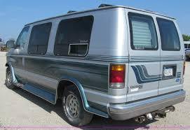 1993 ford e150 econoline conversion van item a8439 sold