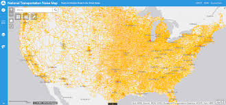 Sound Map This Interactive Dot Map Shows Where Aircraft And Automobile Noise