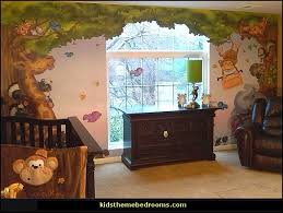 Jungle Wall Decal For Nursery Decorating Theme Bedrooms Maries Manor Jungle Baby Bedrooms