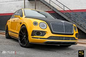 bentley yellow bentley bentayga