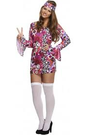 ladies groovy baby 60 u0027s u0026 70 u0027s fancy dress costumes from cheapest